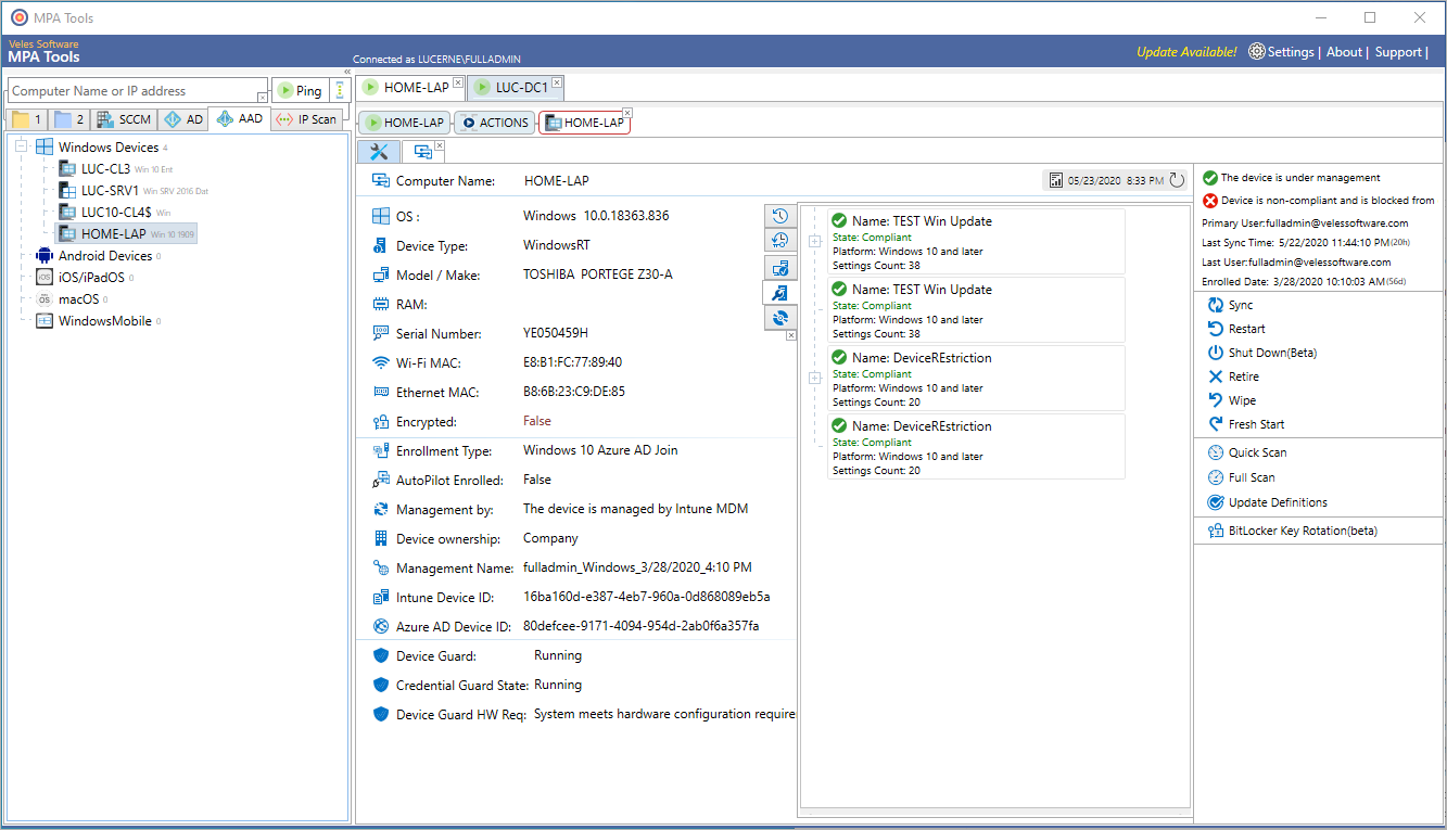 Intune Device Configurations