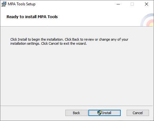 MPA Tools Installation Guide