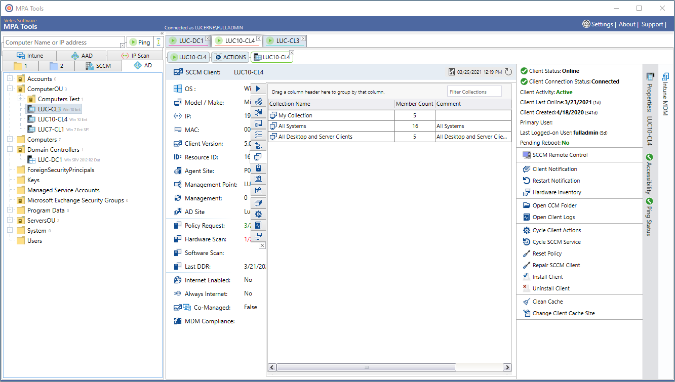 SCCM Collection Membership